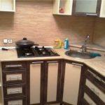 Дешевый ремонт угловой кухни своими руками