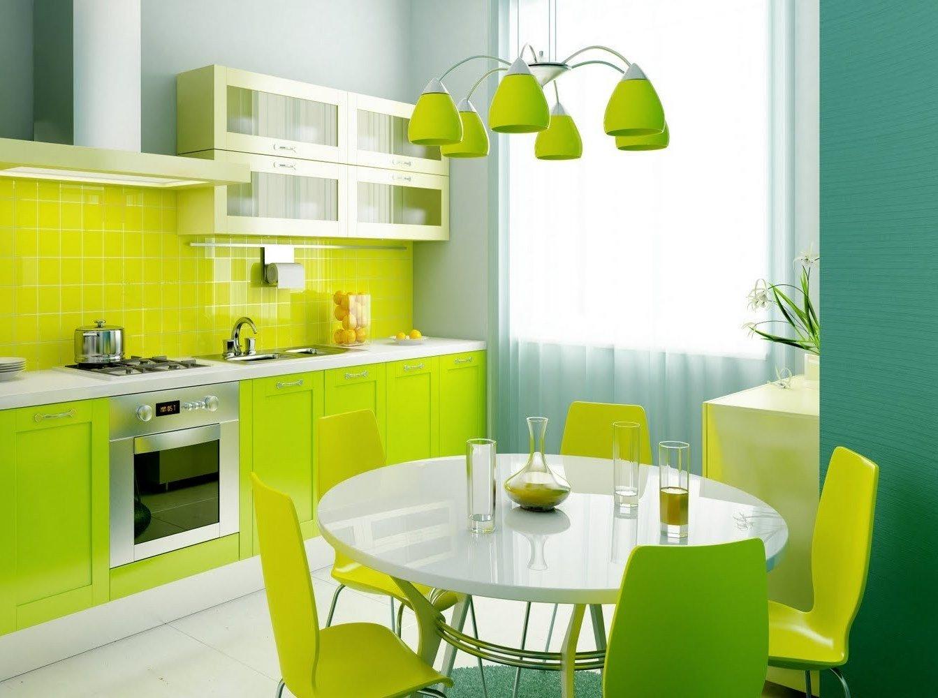 Салатовая кухня 53 фото варианты дизайна кухонного гарнитура в салатовых тонах использование кухни салатового цвета в интерьере сочетание с белым черным и другими цветами