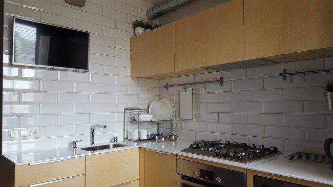 Стена кухни