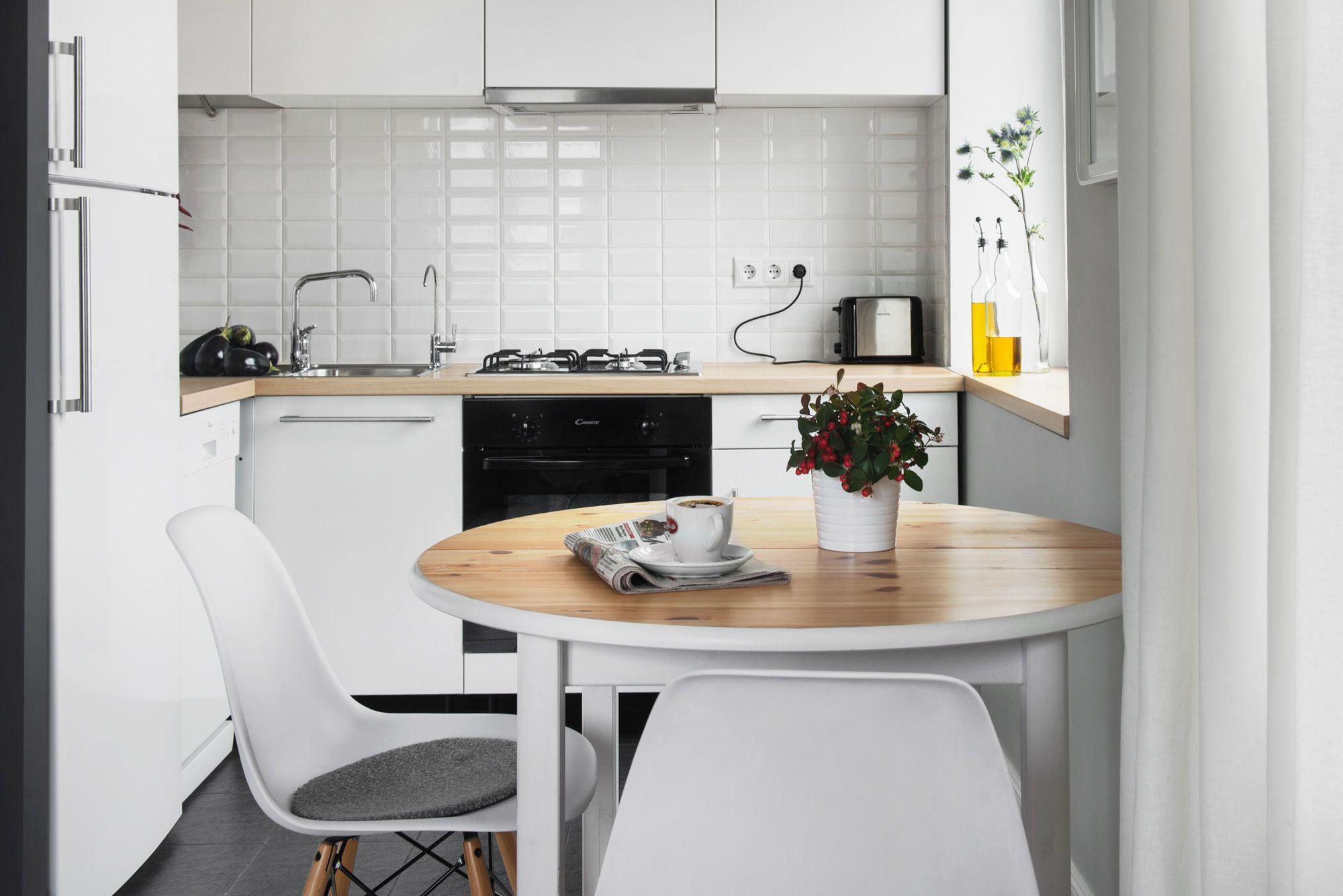 Картинки дизайна кухни маленькой площади