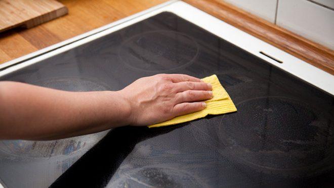 Салфетка для чистки плиты