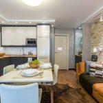 Кухня гостиная 14 кв м: фото, как подобрать стиль, правила организации пространства