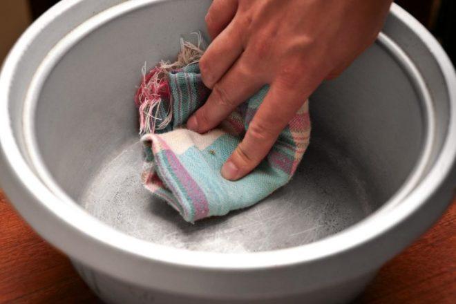 Очистка посуды