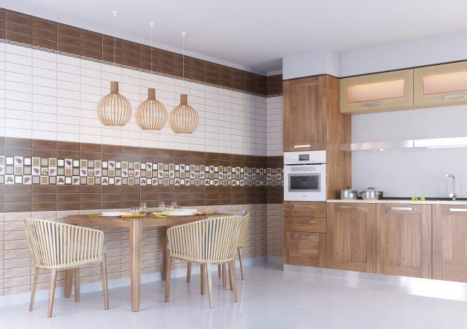 Отделка стен ПВХ панелями для кухни