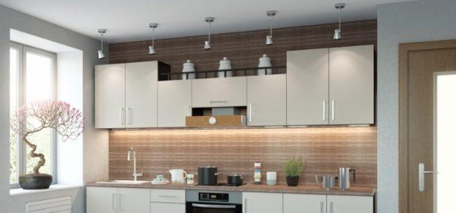 Верхние модули кухни