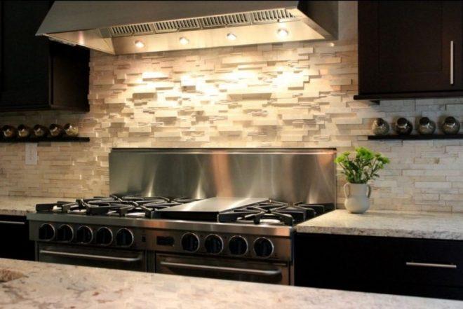 Кухонный фартук из камня
