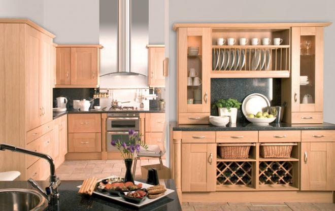 Комбинированный шкаф на кухню