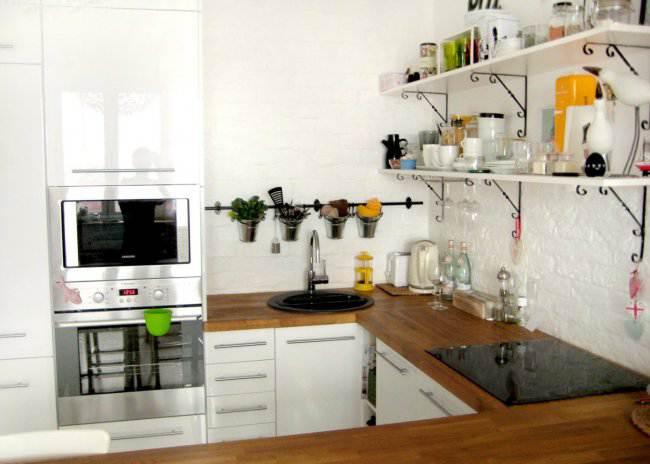 Полки и духовка