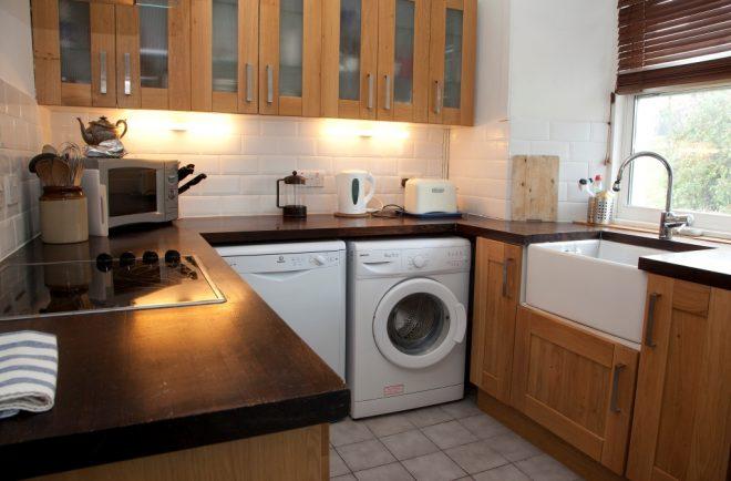 Удачное расположение стиральной машины