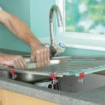 Установка раковины на кухне: виды моек, необходимые инструменты и материалы