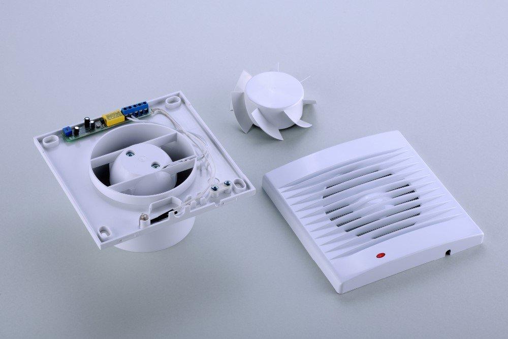 Виды вытяжных бытовых вентиляторов