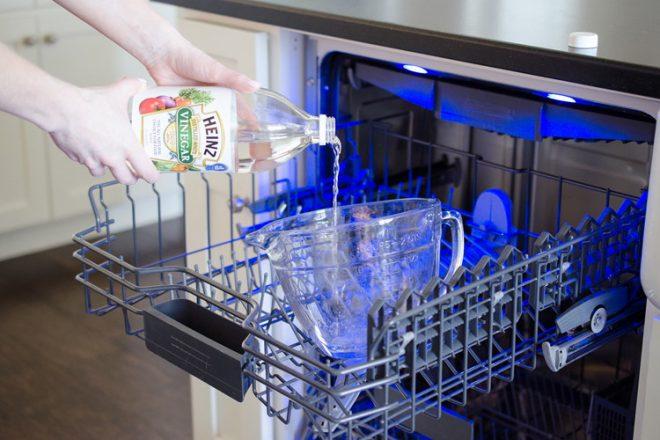 Уксус в посудомойку