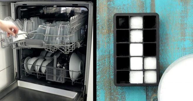 Самодельное средство для посудомойки