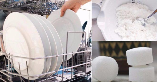 Самодельный порошок в посудомойку