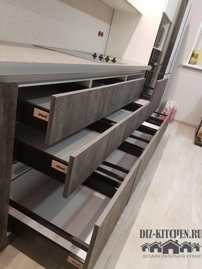 Нижние шкафы