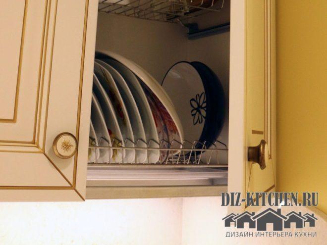 Двухъярусная сушка для посуды