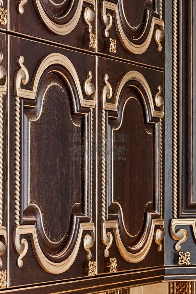 Контрастная фрезеровка фасадов