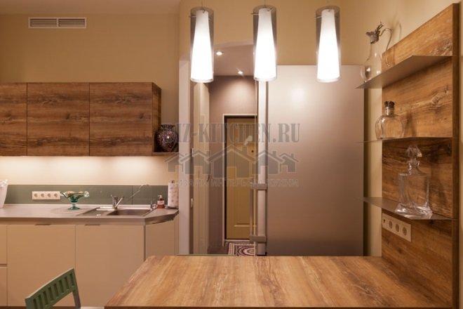 Кухня площадью 16 м кв