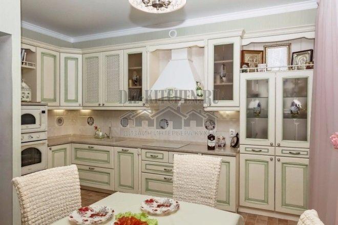 Белая классическая кухня Искья
