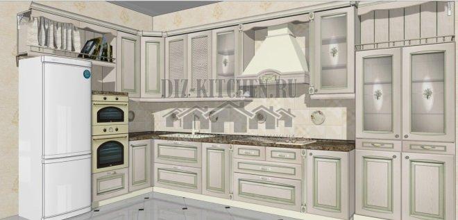 Проект кухни Искья