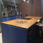 Кухонная мебель из слэбов карагача