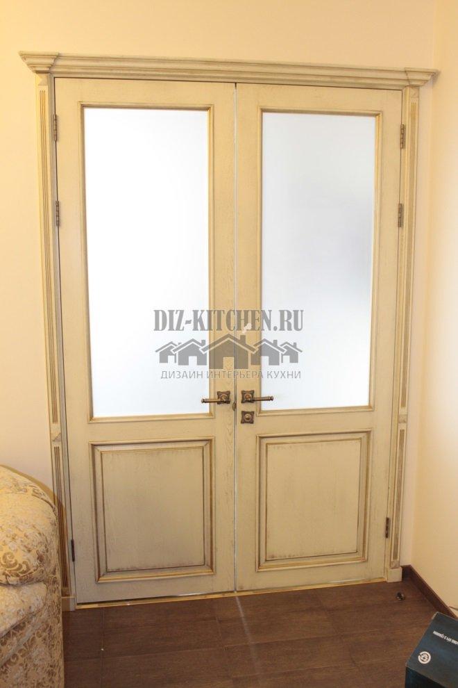 Межкомнатные двери покрытые шпоном