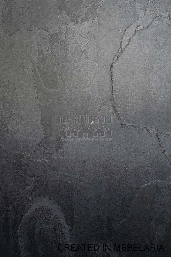 Фасады МДФ и натуральный камень