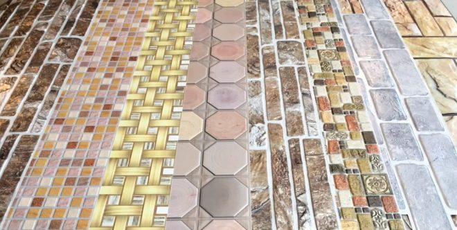 ПВХ панели с имитацией камня и плитки