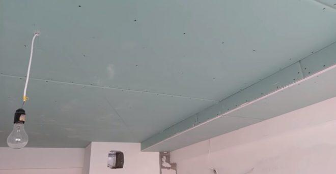 Подве�ной потолок из гип�окартона