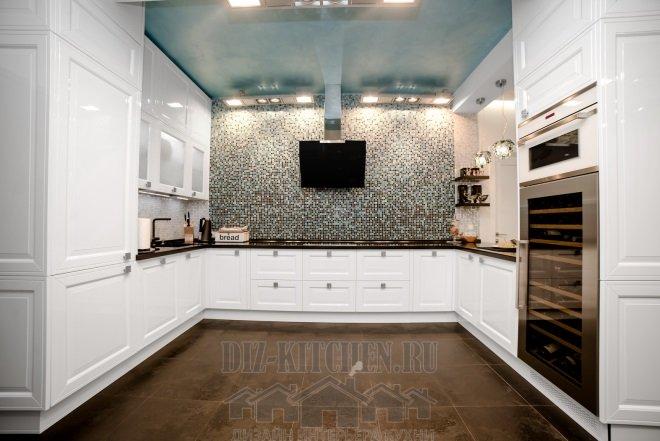 Итальянская кухня PLATINO mobili Design 07