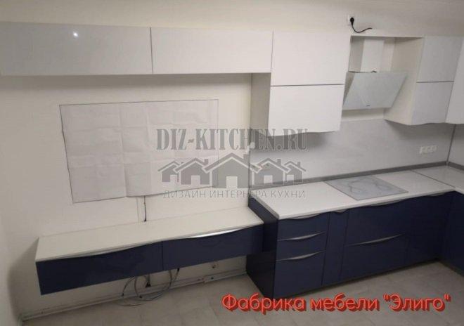 ТВ-зона на кухне