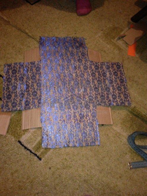 Мастер класс по изготовлению шкатулки своими руками из картона
