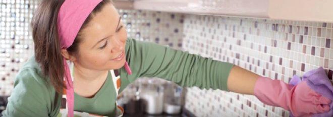 Как и чем лучше отмыть керамическую плитку от жира