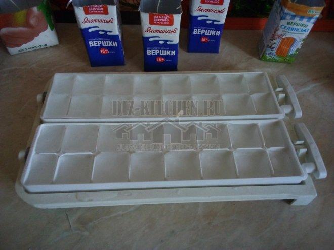 Колотый лед для ажурных свечей