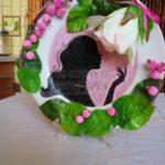 Мастер-класс по декорированию тарелки в силуэтной технике