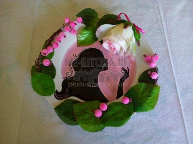 Декор битой тарелки