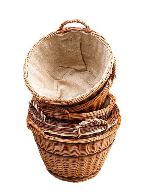 плетеная корзина photo