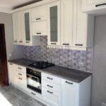Белая итальянская неоклассическая кухня Милан Бьянко