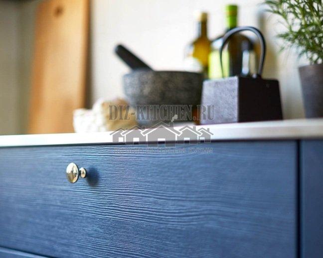 филенчатая дверь со шлифованным сосновым шпоном