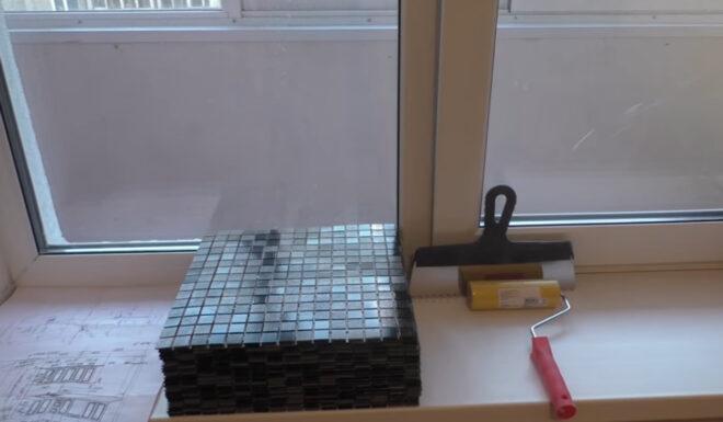Инструменты для нанесения мозаики