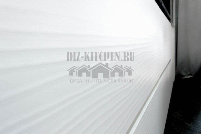 Фасады МДФ, сверху пластик